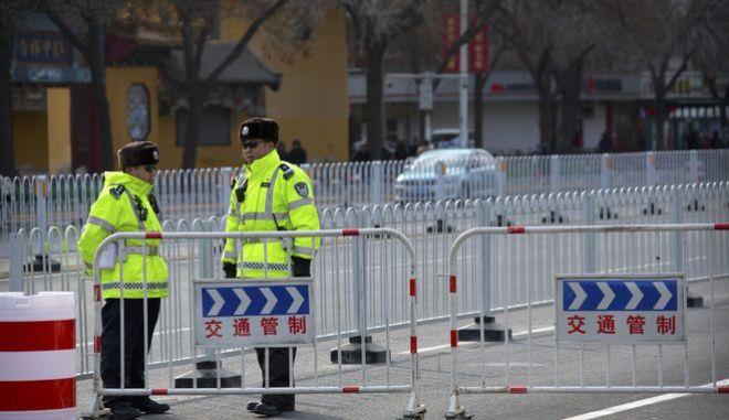 Κινεζική αστυνομία - Φωτό αρχείου