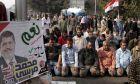 Υποστηρικτές του Μοχάμεντ Μόρσι σε διαδήλωση στο Κάιρο τον Δεκέμβριο του 2012