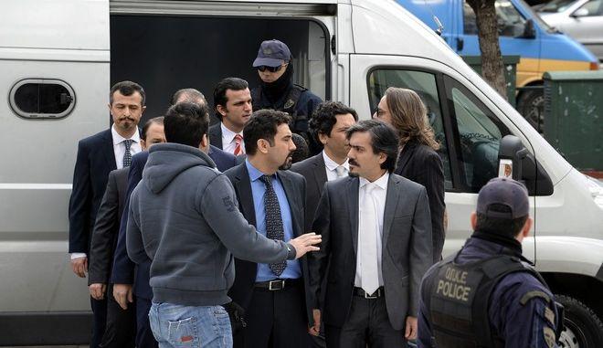 ΑΘΗΝΑ-ΑΡΕΙΟΣ ΠΑΓΟΣ// Ανακοίνωση  για το αν θα εκδοθούν ή όχι οι 8 Τούρκοι στρατιωτικοί στη χώρα τους.(Eurokinissi-ΜΠΟΛΑΡΗ ΤΑΤΙΑΝΑ )