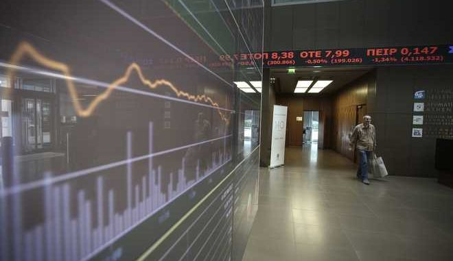 Stock Market crash following  the results of the US presidential elections, in Athens, on Nov. 9, 2016 /              ,  ,  9 , 2016