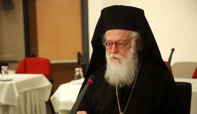 Ο Αρχιεπίσκοπος Αλβανίας, Αναστάσιος