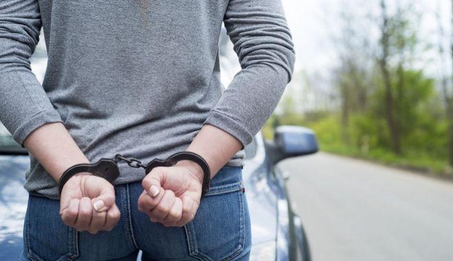 Σύλληψη γυναίκας