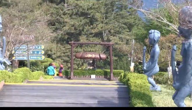 N. Κορέα: Οι Χειμερινοί Ολυμπιακοί Αγώνες αύξησαν τους επισκέπτες στο 'πάρκο φαλλών'