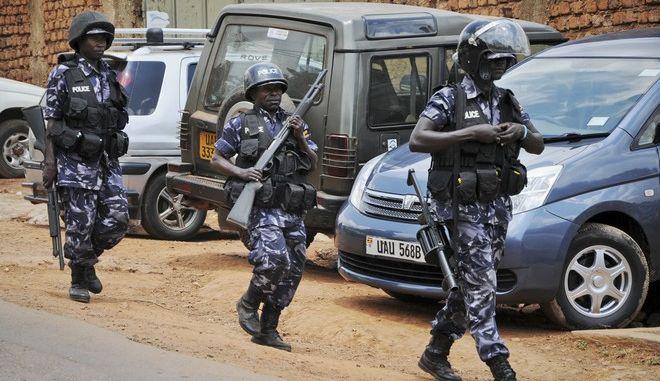 Αστυνομικοί στην Ουγκάντα (φωτογραφία αρχείου)