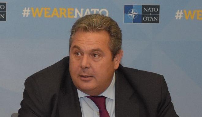 Ο ΥΕΘΑ Πάνος Καμμένος στη Σύνοδο των Υπουργών Άμυνας του ΝΑΤΟ στις Βρυξέλλες