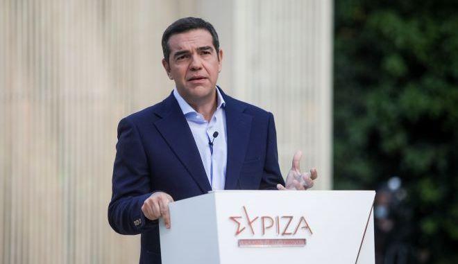 Στη Βόρεια Μακεδονία σήμερα ο Αλέξης Τσίπρας