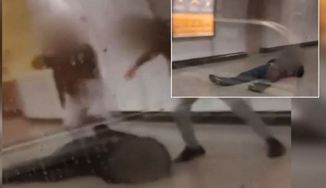 Νέο βίντεο από τον ξυλοδαρμό του σταθμάρχη - Πώς ξεκίνησε η επίθεση
