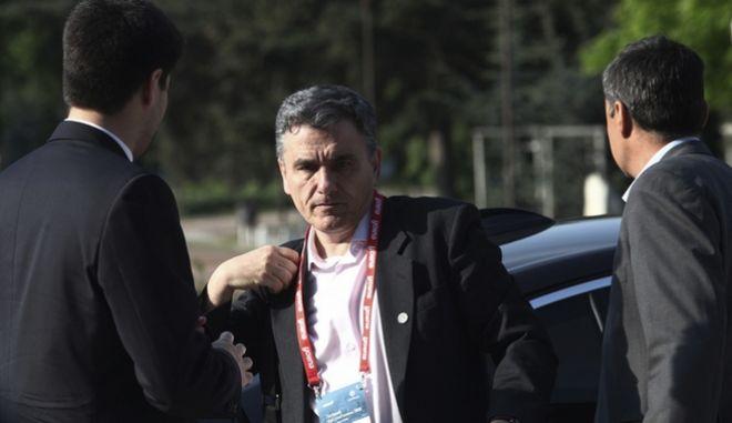Ο υπουργός Οικονομικών, Ευκλείδης Τσακαλώτος - Φωτογραφία αρχείου