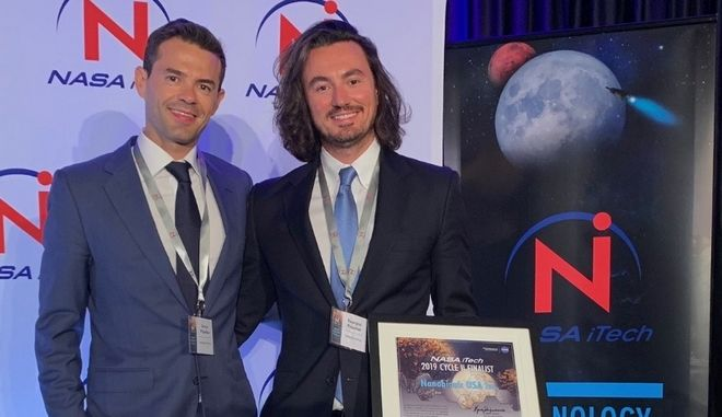 Διαγωνισμός NASA iTech ii: Η Nanobionic μέσα στις 10 πιο καινοτόμες εταιρείες