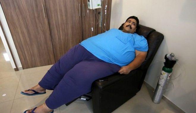 Πέθανε τα Χριστούγεννα ο πιο παχύσαρκος άνθρωπος στον πλανήτη