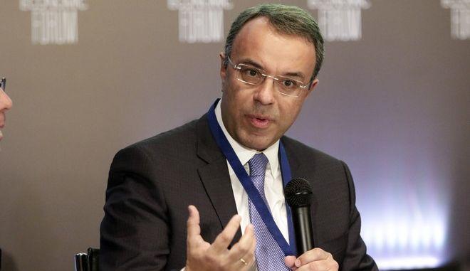O υπουργός Οικονομικών, Χρ. Σταϊκούρας