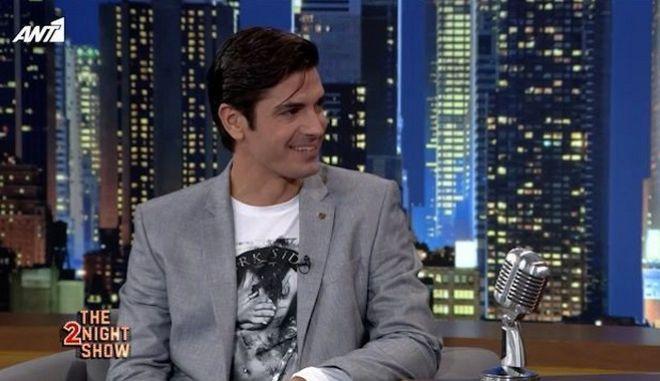 Ο Δημήτρης Γκοτσόπουλος στο The 2night show