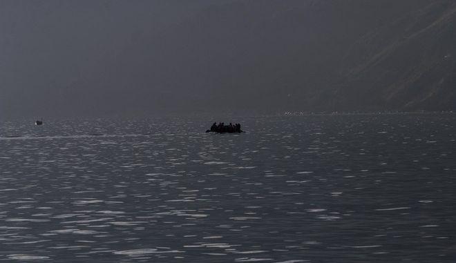 ΑΠΟΣΤΟΛΗ ΣΤΗ ΛΕΣΒΟ -  Περιπολία λιμενικού για εντοπισμό προσφύγων και μεταναστών, Τρίτη 10 Νοεμβρίου 2015. (EUROKINISSI/ΣΤΕΛΙΟΣ ΣΤΕΦΑΝΟΥ)
