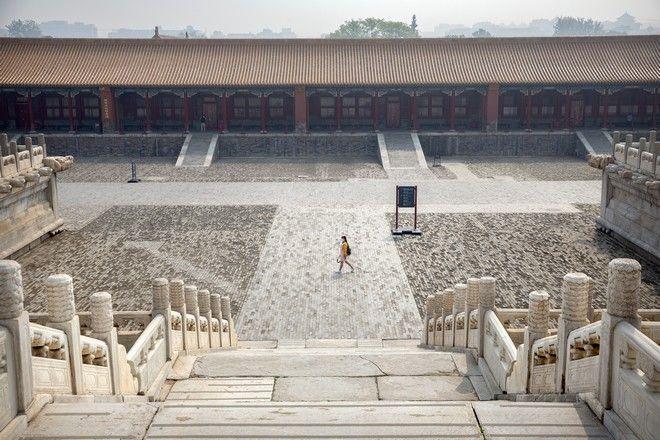 Εικόνα από την Απαγορευμένη Πόλη στο Πεκίνο τον Μάιο του 2020