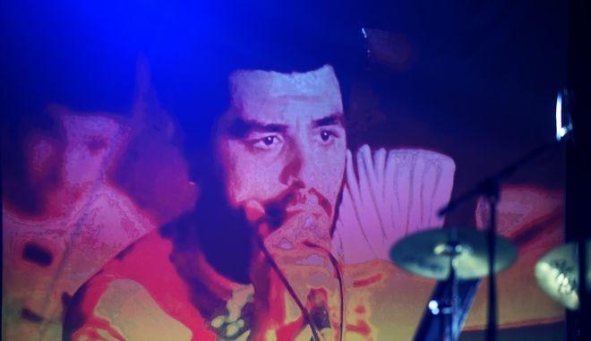 Σττιγμιότυπο από τη συναυλία για τον Παύλο Φύσσα