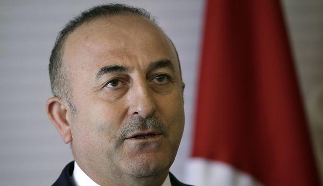 O Τούρκος υπουργός Εξωτερικών Μεβλούτ Τσαβούσογλου