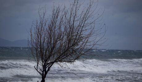 Ισχυροί άνεμοι στο λιμάνι της Ραφήνας
