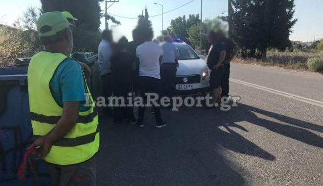 Λαμία: Υπάλληλος καθαριότητας παρασύρθηκε από δύο αυτοκίνητα
