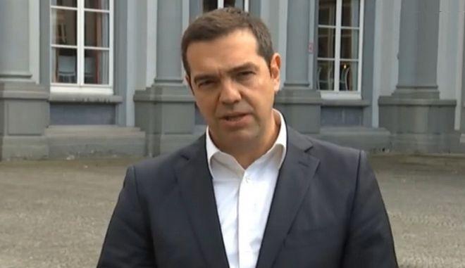 Τσίπρας: Στις αποφάσεις του Ευρωπαϊκού Συμβουλίου κρίνεται η αξιοπιστία της Ευρωπαϊκής Ένωσης