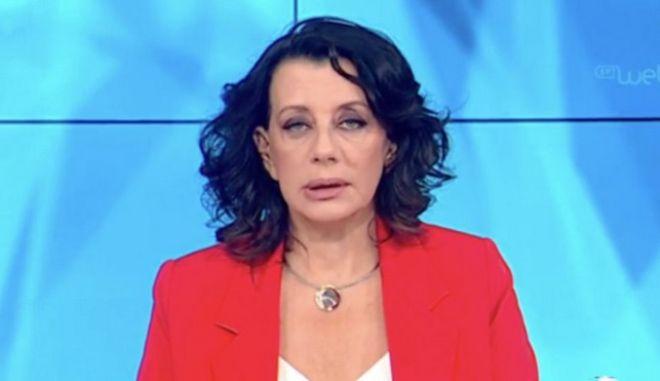 """H Ακριβοπούλου ανακοίνωσε ότι σταματά πρόωρα την εκπομπή """"Δεύτερη Ματιά"""""""