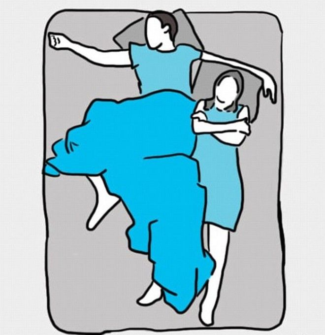 Έρευνα: Πες μου πως προτιμάς να κοιμάσαι με το έτερον ήμισυ να σου πω το πρόβλημά σας