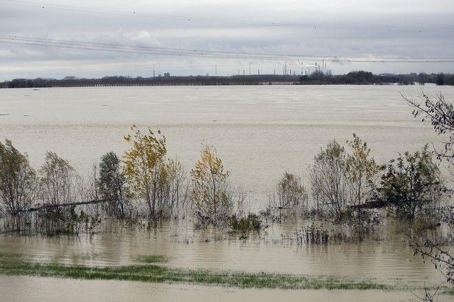 Εικόνα από τον ποταμό Πο