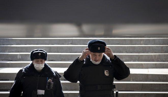 Αστυνομικοί στη Ρωσία