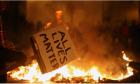 """Πανό με το σύνθημα """"All Lives Matter"""""""