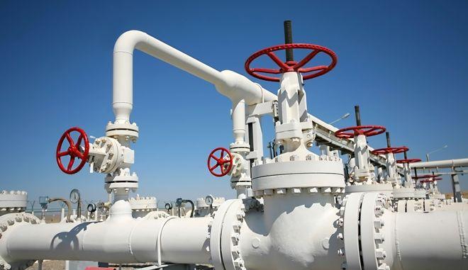Μονάδα επεξεργασίας φυσικού αερίου