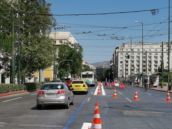 Μεγάλος Περίπατος: Κόλαση με το καλημέρα για τους οδηγούς στο κέντρο