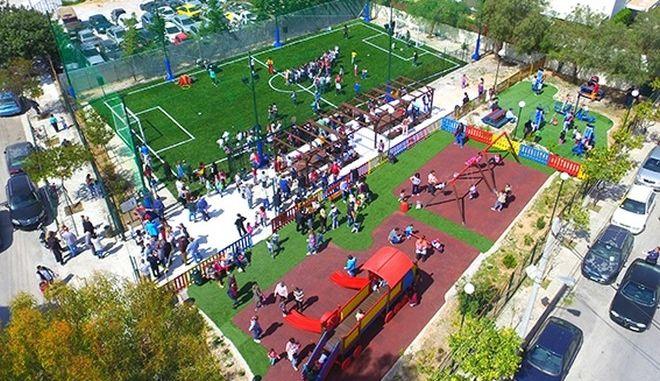 Politis Group: Χορηγός στην κατασκευή πρότυπου Οικογενειακού Πάρκου στο Δήμο Ελληνικού - Αργυρούπολης