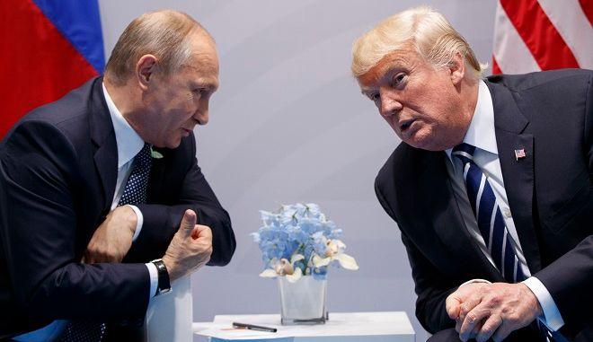 Ο Ντόναλντ Τραμπ και ο Βλάντιμιρ Πούτιν