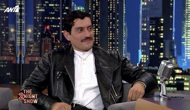 Ο Αργύρης Πανταζάρας στο The 2night show