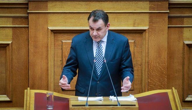 Φωτό αρχείου: Ο υπουργός Εθνικής Άμυνας Νίκος Παναγιωτόπουλος