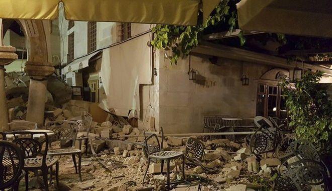 Αποζημιώσεις για τις ζημιές του σεισμού στην Κω, προαναγγέλλει ο Σαντορινιός