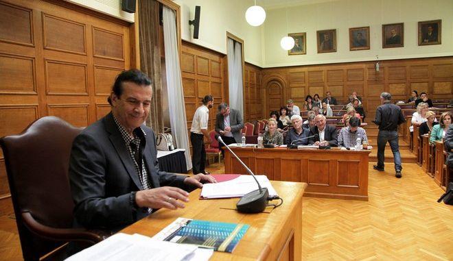 """Συνεδρίαση της Επιτροπής Μορφωτικών Υποθέσεων της Βουκλής για την επεξεργασία και εξέταση του σχεδίου νόμου """"Επείγοντα μέτρα για την Πρωτοβάθμια, Δευτεροβάθμια και Τριτοβάθμια Εκπαίδευση"""" την δευτέρα 4 Μαΐου 2015. (EUROKINISSI/ΓΙΑΝΝΗΣ ΠΑΝΑΓΟΠΟΥΛΟΣ)"""