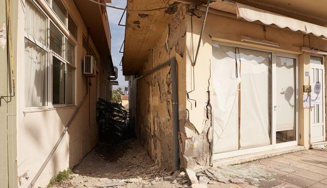 Σεισμός στην Κρήτη - Καταστροφές σε σπίτια
