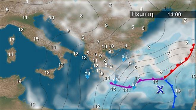 Χιόνια και στην Αττική σήμερα - Πότε θα Φλεβαρίσει