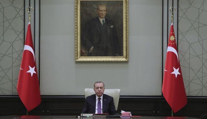 Ο τούρκος πρόεδρος Ρετζέπ Ταγίπ Ερντογάν