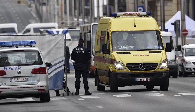 Επιθεση στις Βρυξέλλες. Φωτογραφία αρχείου.