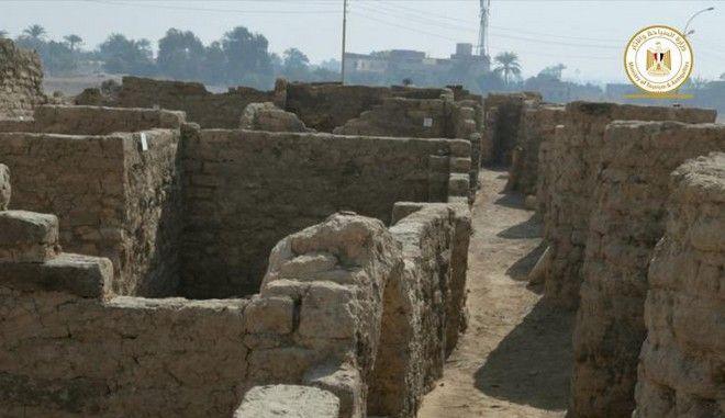 Εικόνα από την αρχαία αιγυπτιακή Πομπηία