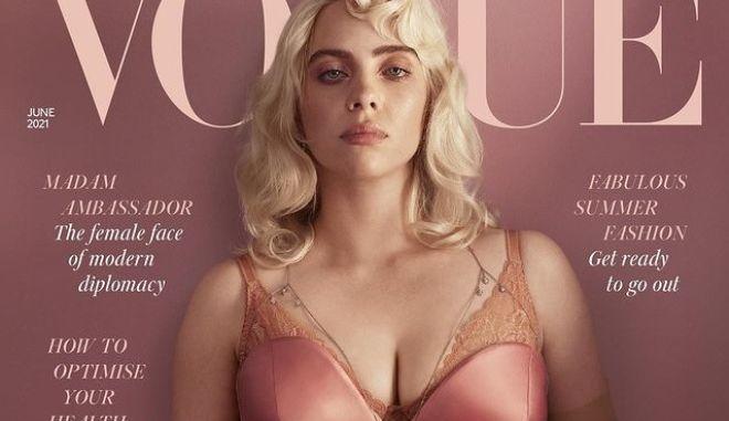 Μπίλι Άιλις: Η ανατρεπτική φωτογράφησή της για τη βρετανική Vogue