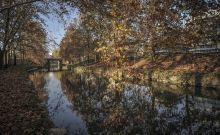 Φθινοπωρινές αντανακλάσεις στα νερά του Ληθαίου