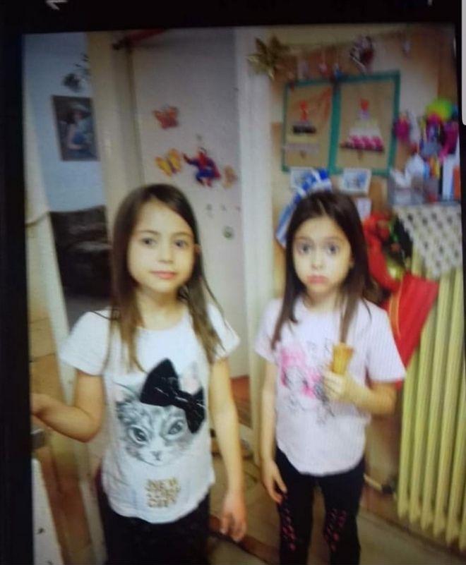 Τα 9χρονα δίδυμα κορίτσια που αγνοούνται με την φονική φωτιά στην Αττική