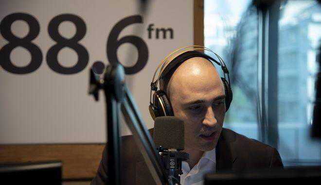 """Ο Κωνσταντίνος Μπογδάνος στην εκπομπή """"Σκληρό Ροκ"""""""
