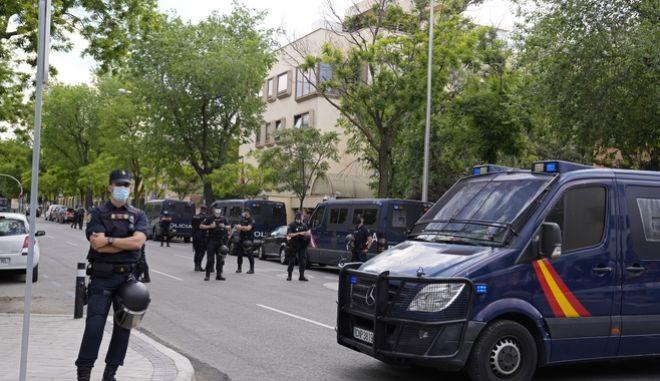Ισπανική αστυνομία (Μαδρίτη-ΑΡΧΕΙΟΥ)