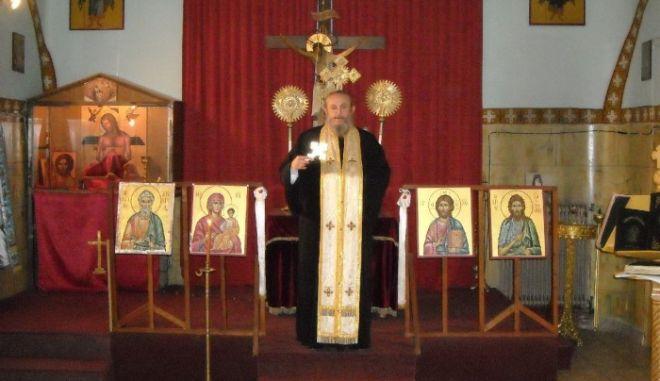 Κάηκε ζωντανός μέσα στην εκκλησία ο Πορφύριος Παπαρούπας
