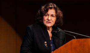 Η αναπληρώτρια υπουργός Κοινωνικής Αλληλεγγύης Θεανώ Φωτίου