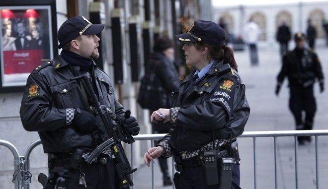 Αστυνομικές δυνάμεις στη Νορβηγία
