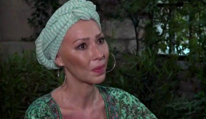 Η ηθοποιός Δώρα Χρυσικού